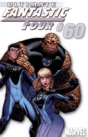Ultimate Fantastic Four #60 White Retailer Incentive Variant 1:100 (2009) Marvel comic book